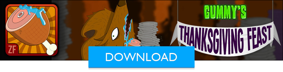 Gummy's Thanksgiving Feast Words of Wolfman Android app Thanksgiving Game