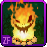 New App Halloween Campfire Stories for Kids