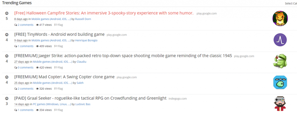 Climbing the Indie Game Hunt Ladder Halloween