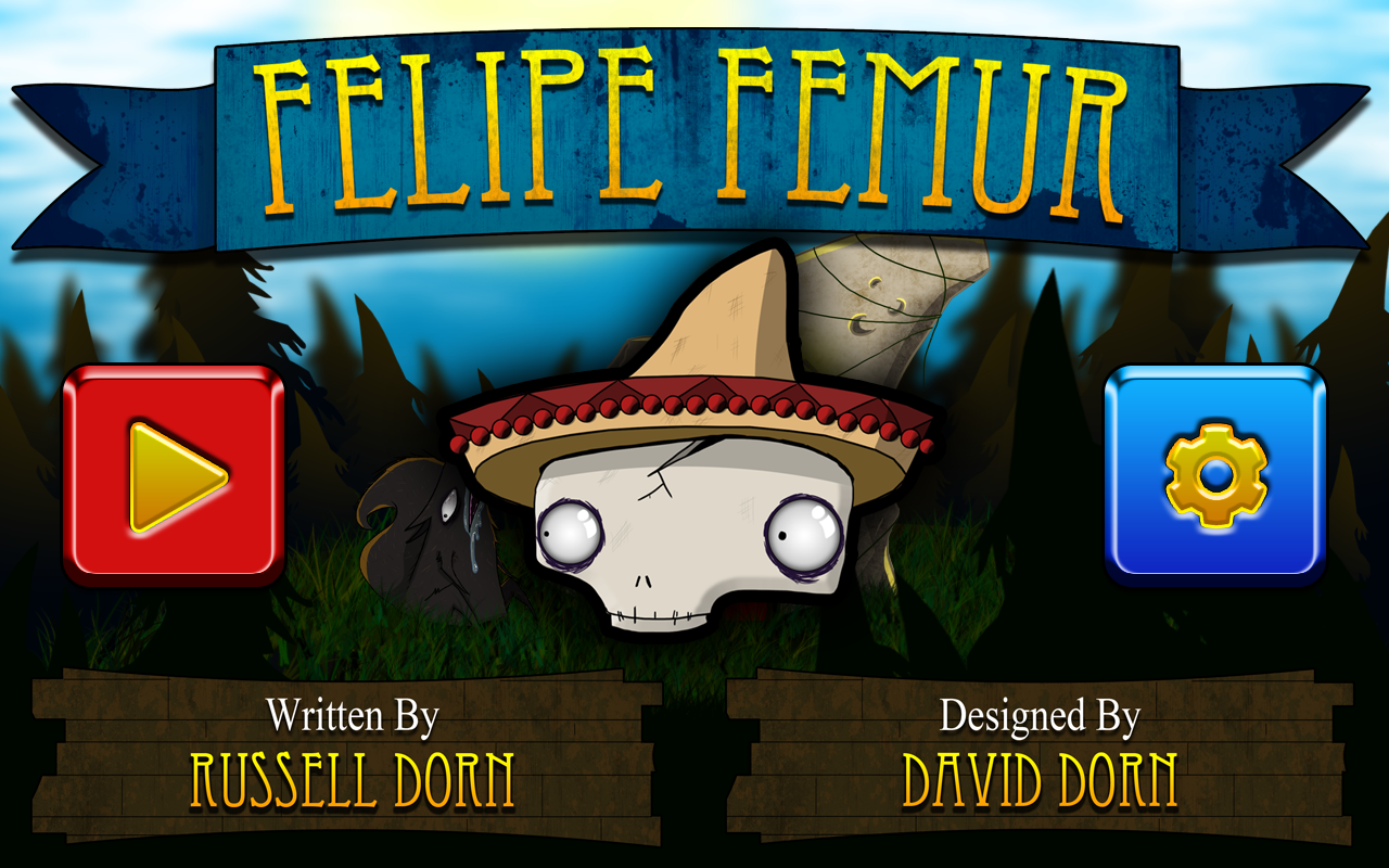 title Screen The Evolution of Felipe Femur