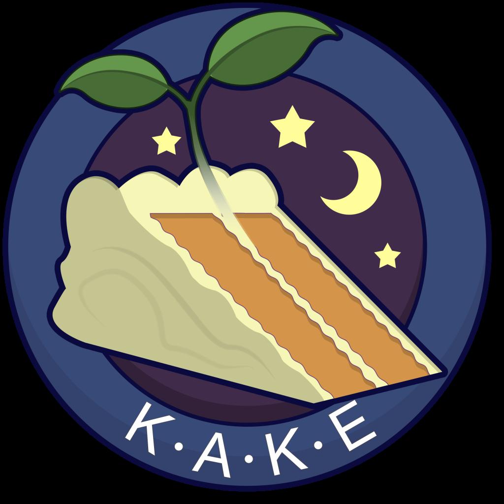 KAKE - K.A.K.E Conceptualization - Kake logo drawing
