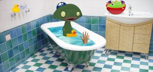 Bathtime stories for children and kids bath time